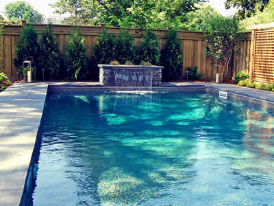 Swimming Pool - Oakville Landscaping by Let's Landscape Together