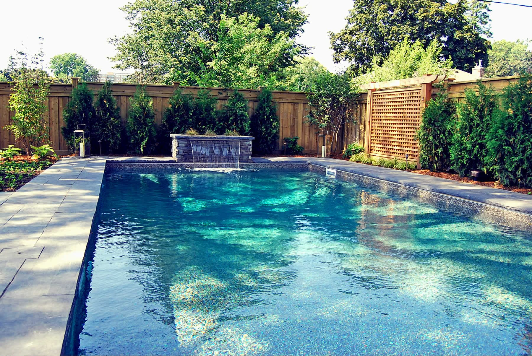 Mississauga landscaping let 39 s landscape together - Swimming pools burlington ontario ...