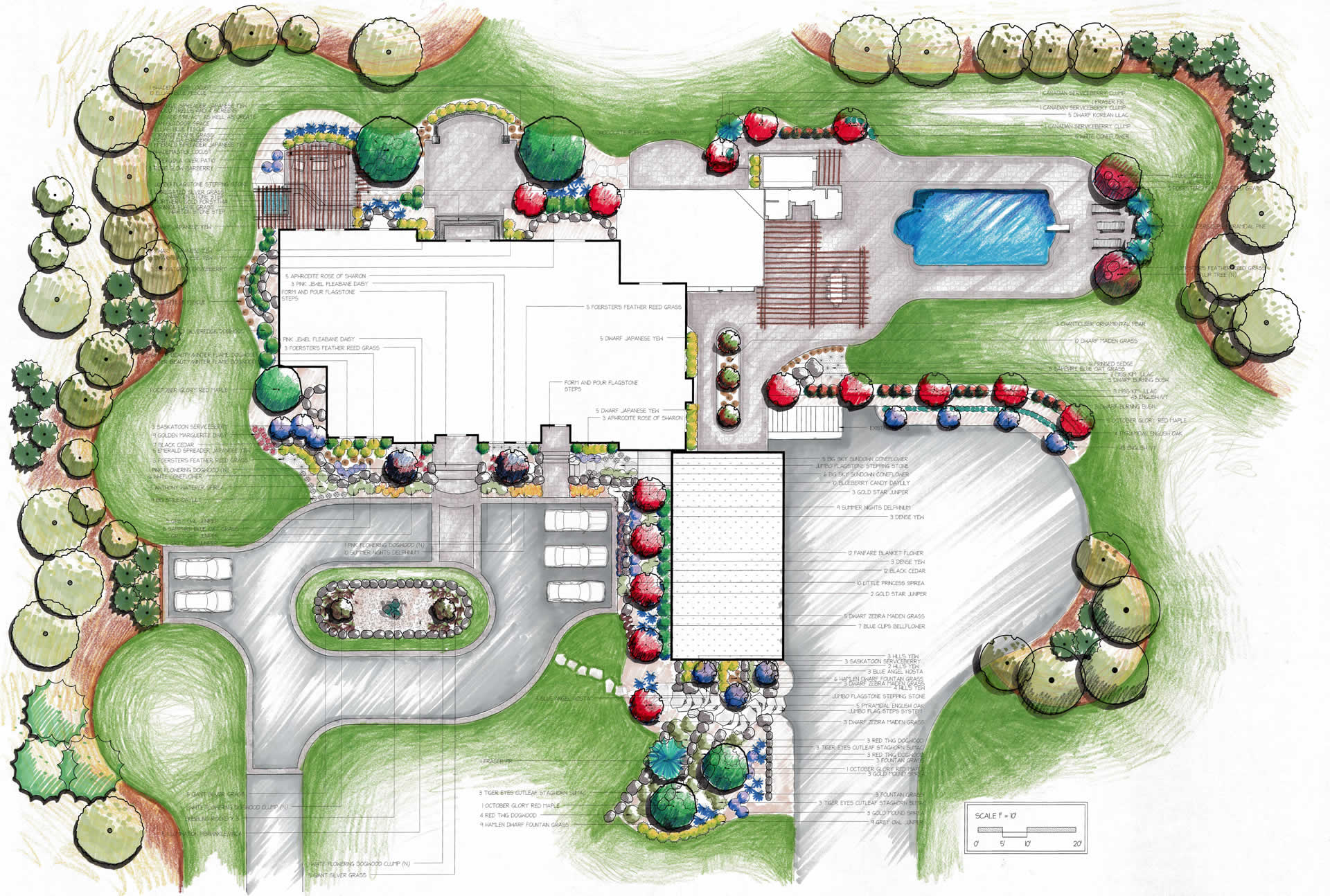 Landscape design let 39 s landscape together for How to design garden layout