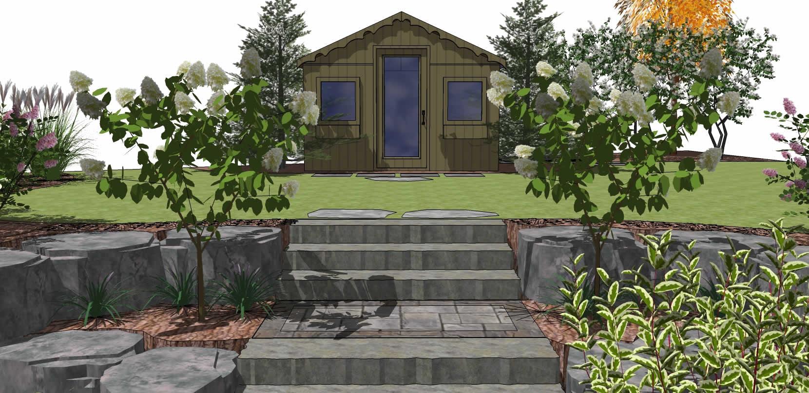 Landscape design let 39 s landscape together for Pool design sketchup